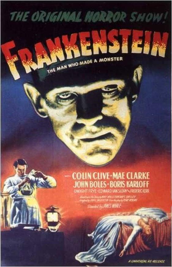 Frankenstein Poster #1