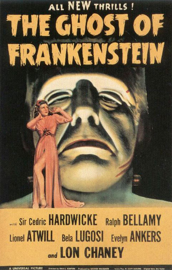 The Ghost of Frankenstein Poster #1