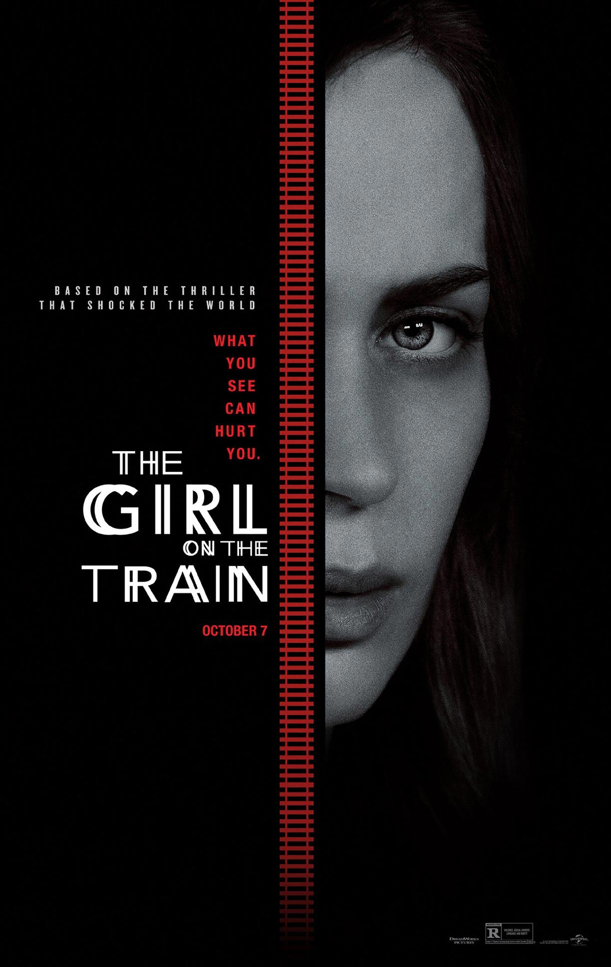 The Girl on the Train Poster #2