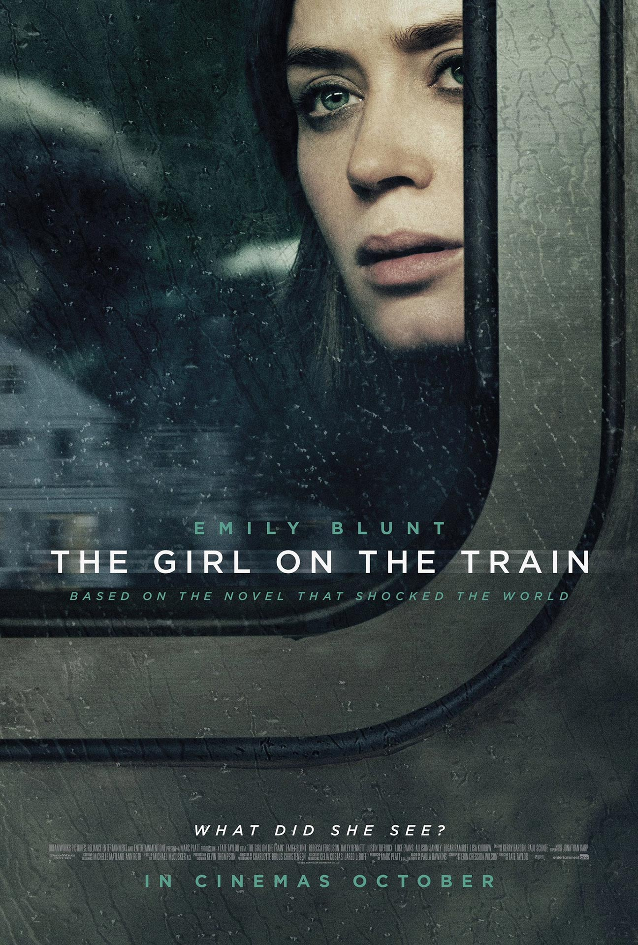 Image result for the girl on the train poster