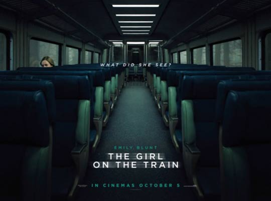 The Girl on the Train Poster #4