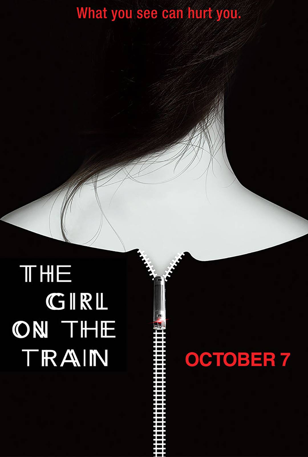 The Girl on the Train Poster #1