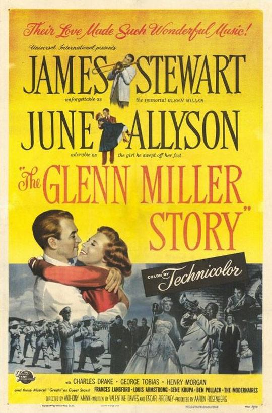 The Glenn Miller Story Poster #1