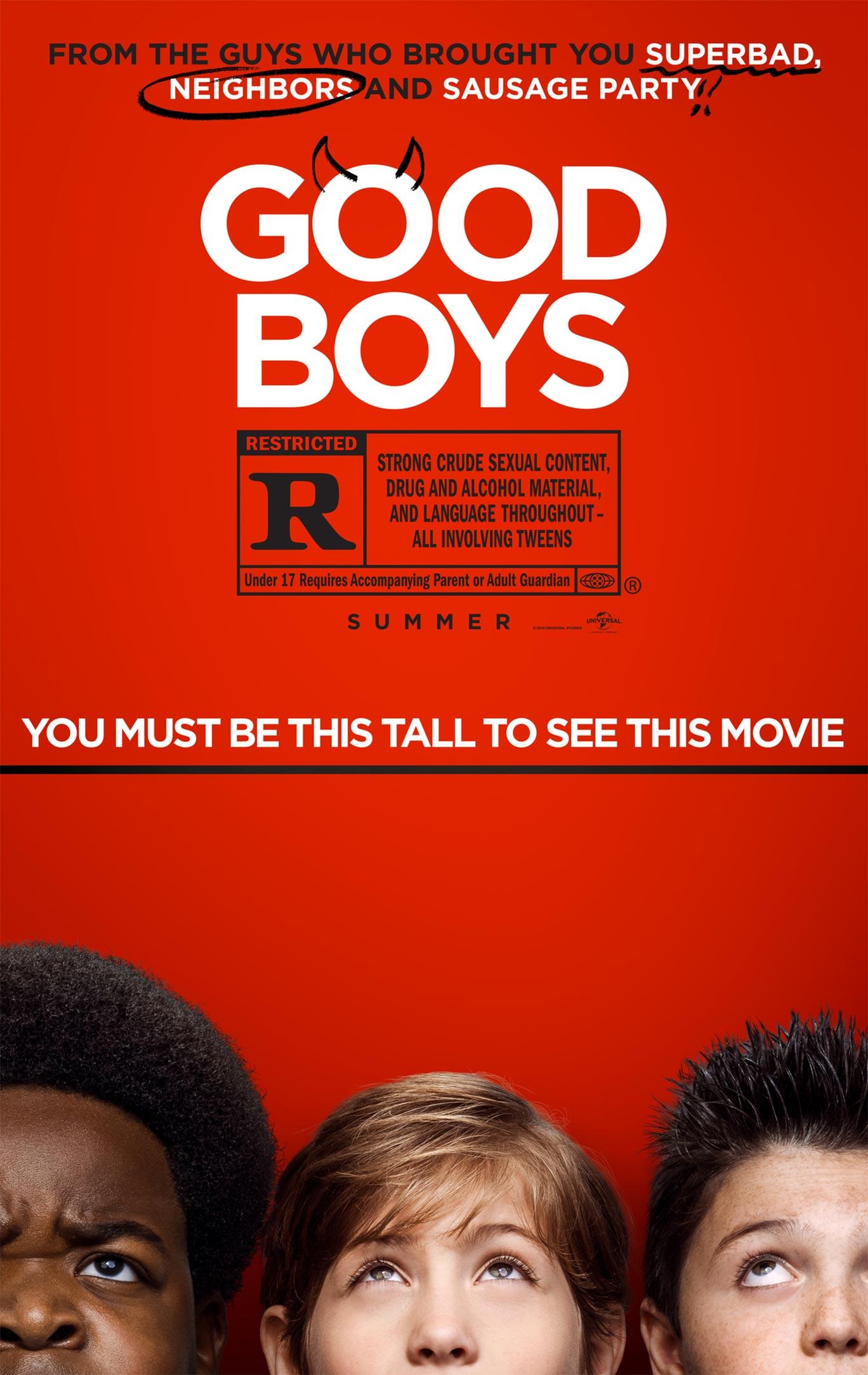 Good Boys Poster #1