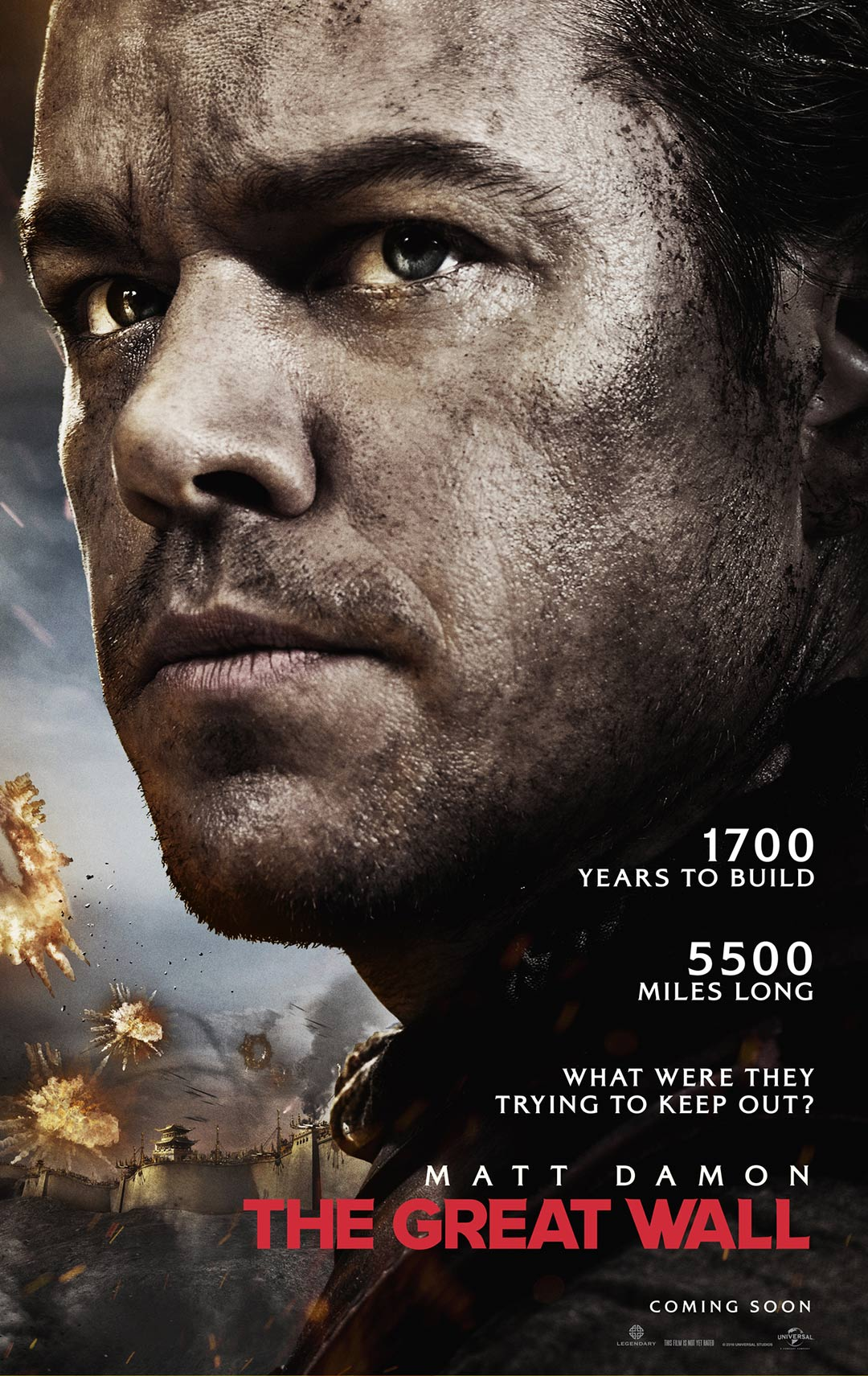 The Great Wall Poster #1