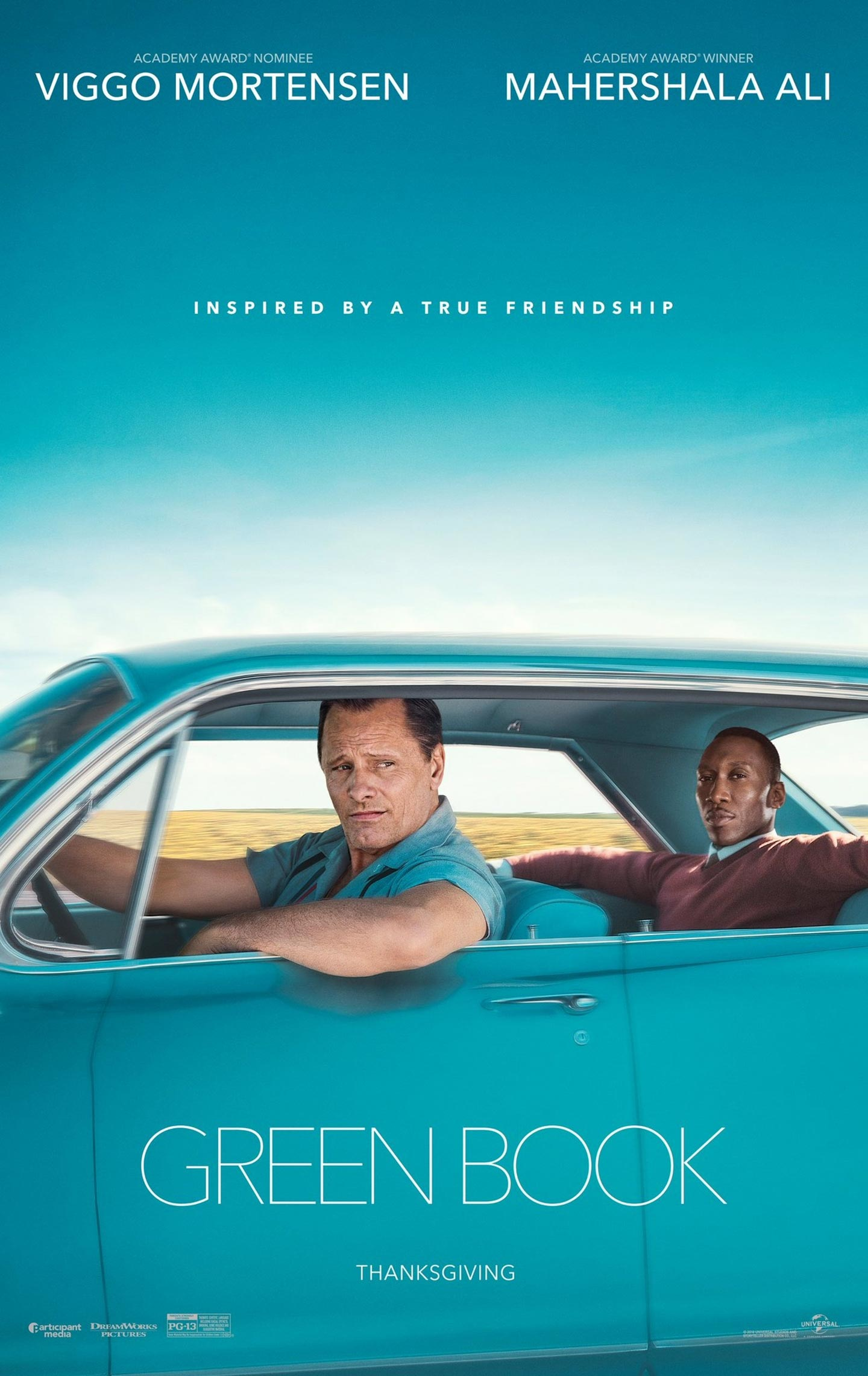 Green Book Poster #1