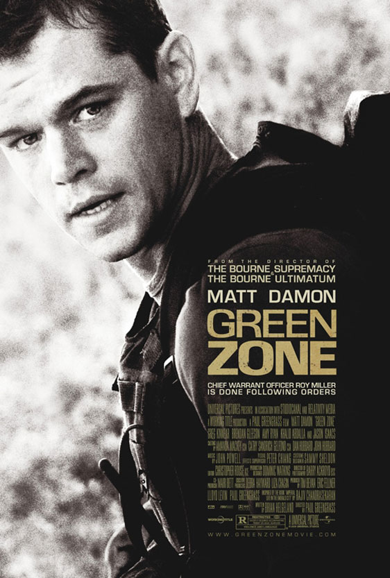 Green Zone Poster #1