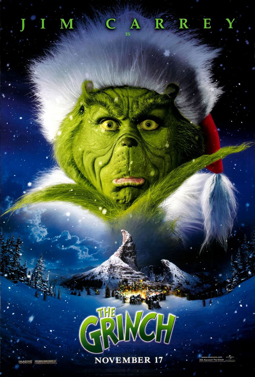 How the Grinch Stole Christmas Poster #1