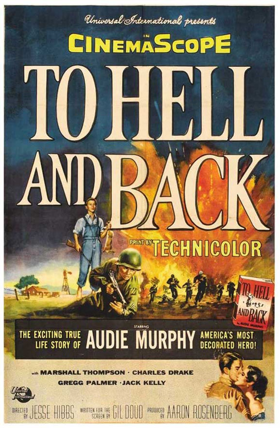 To Hell and Back Poster #1