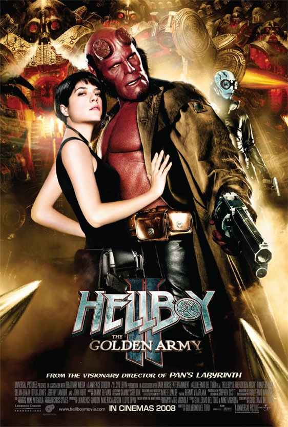 Hellboy II: The Golden Army Poster #15