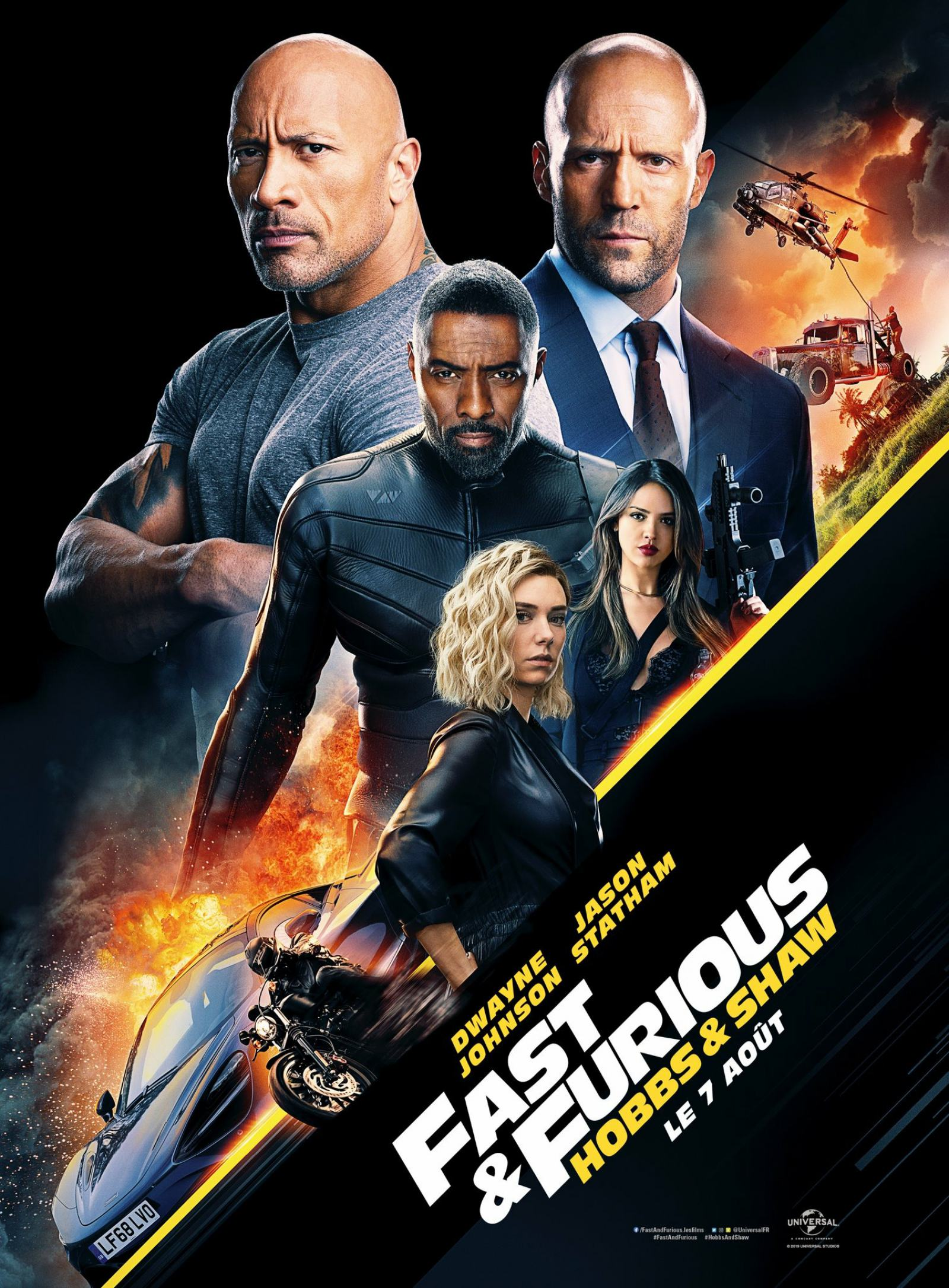 Fast & Furious Presents: Hobbs & Shaw Poster #2