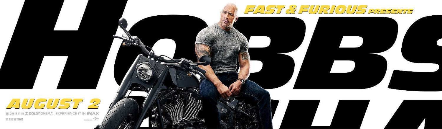 Fast & Furious Presents: Hobbs & Shaw Poster #3
