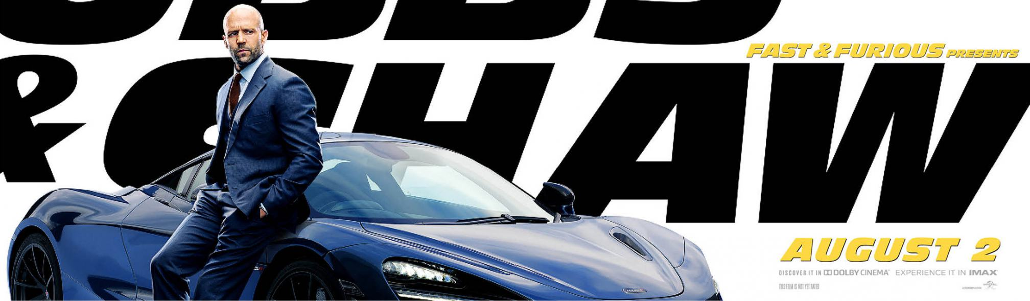 Fast & Furious Presents: Hobbs & Shaw Poster #4