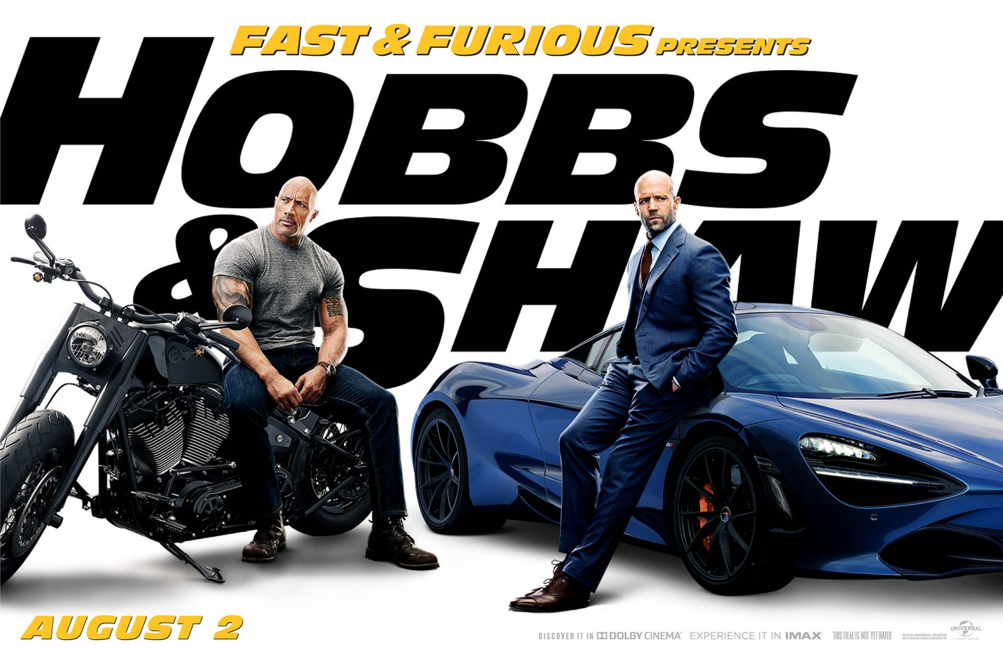 Fast Furious Presents Hobbs Shaw 2019 Poster 5 Trailer Addict