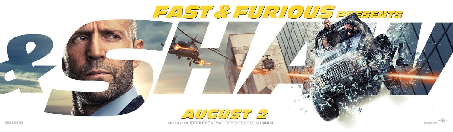 Fast & Furious Presents: Hobbs & Shaw Poster #6
