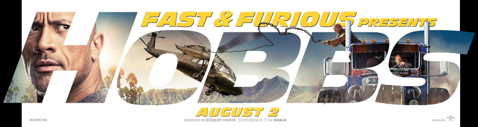 Fast & Furious Presents: Hobbs & Shaw Poster #7