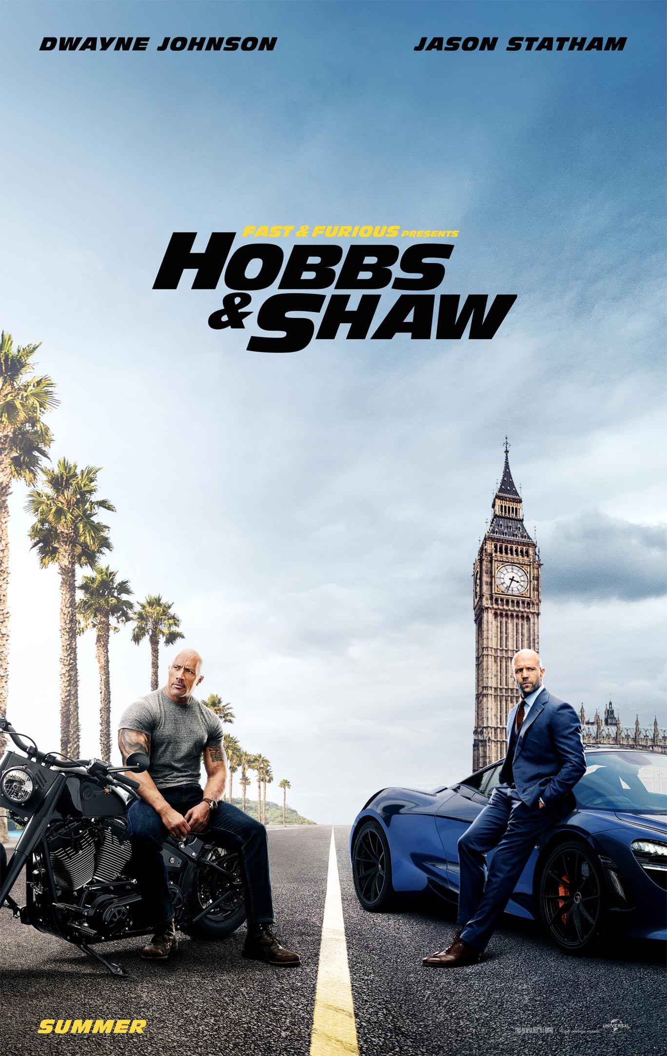 Fast & Furious Presents: Hobbs & Shaw Poster #1