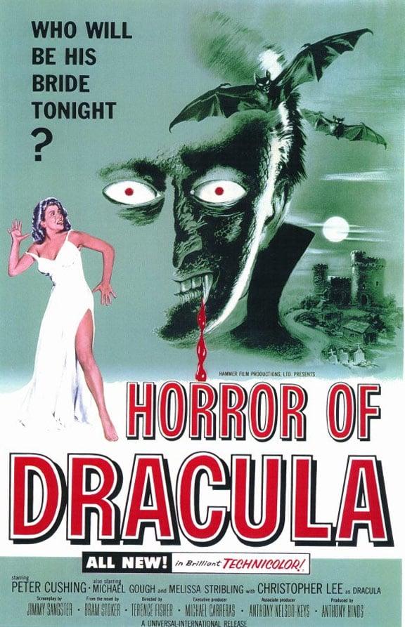 Horror of Dracula Poster #1