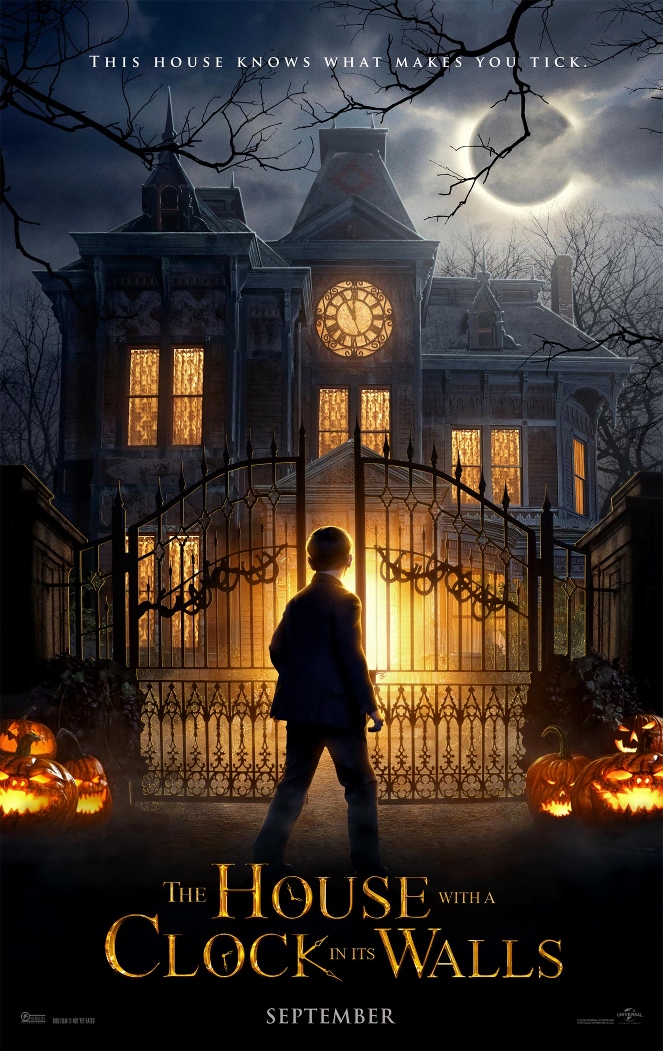 The House with a Clock in its Walls Poster #1