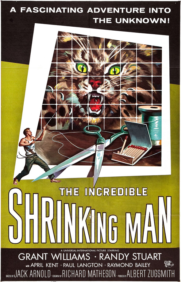 The Incredible Shrinking Man Poster #1