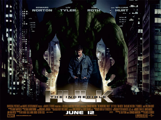 The Incredible Hulk Poster #3