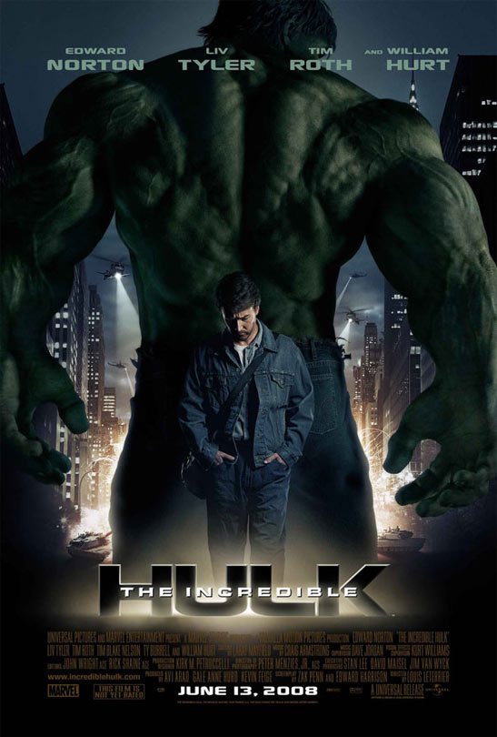 The Incredible Hulk Poster #1
