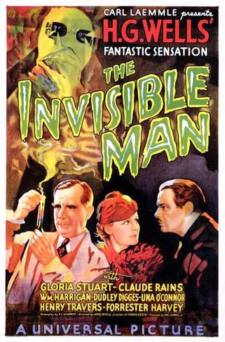 The Invisible Man Poster #1