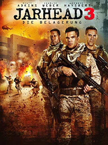 Jarhead 3: The Siege Poster #1