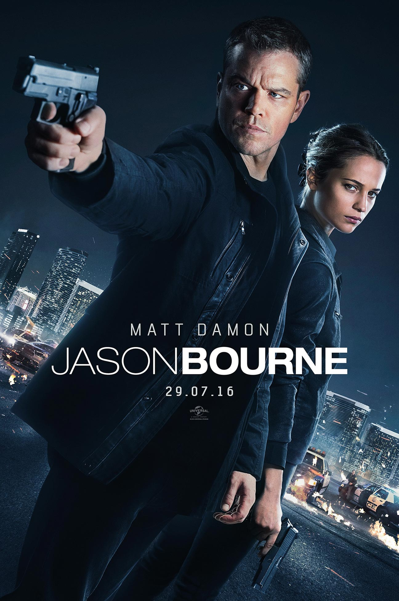 Jason Bourne Poster #2