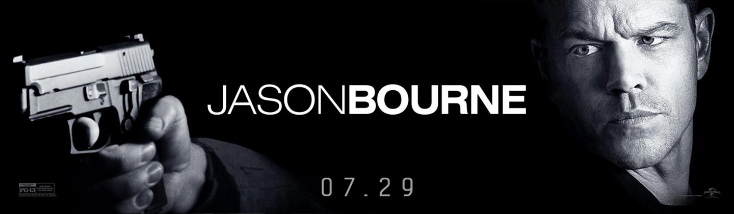 Jason Bourne Poster #3
