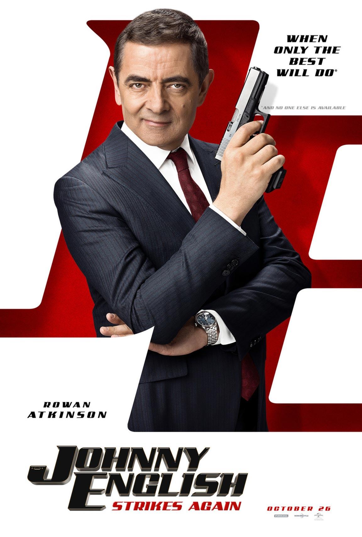 Alita Battle Angel >> Johnny English Strikes Again (2018) Poster #1 - Trailer Addict