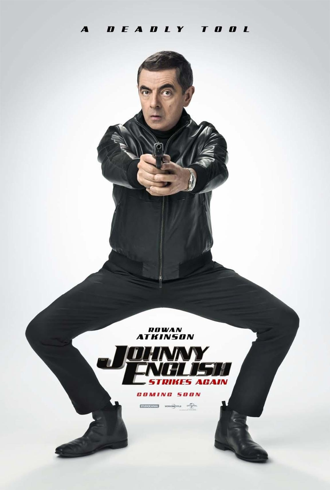 Johnny English Strikes Again Poster #1