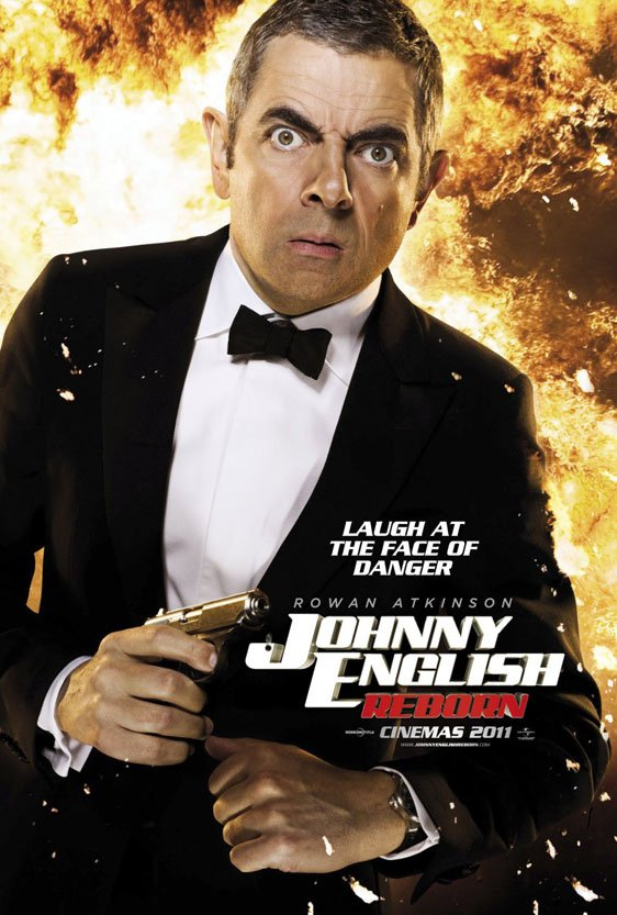 Johnny English Reborn Poster #2