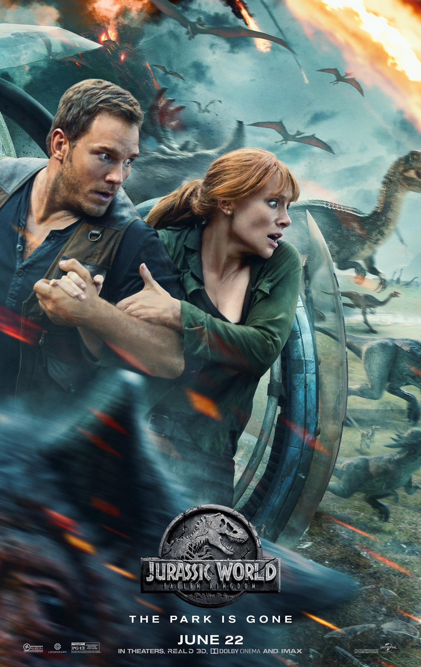 Jurassic World: Fallen Kingdom Poster #3