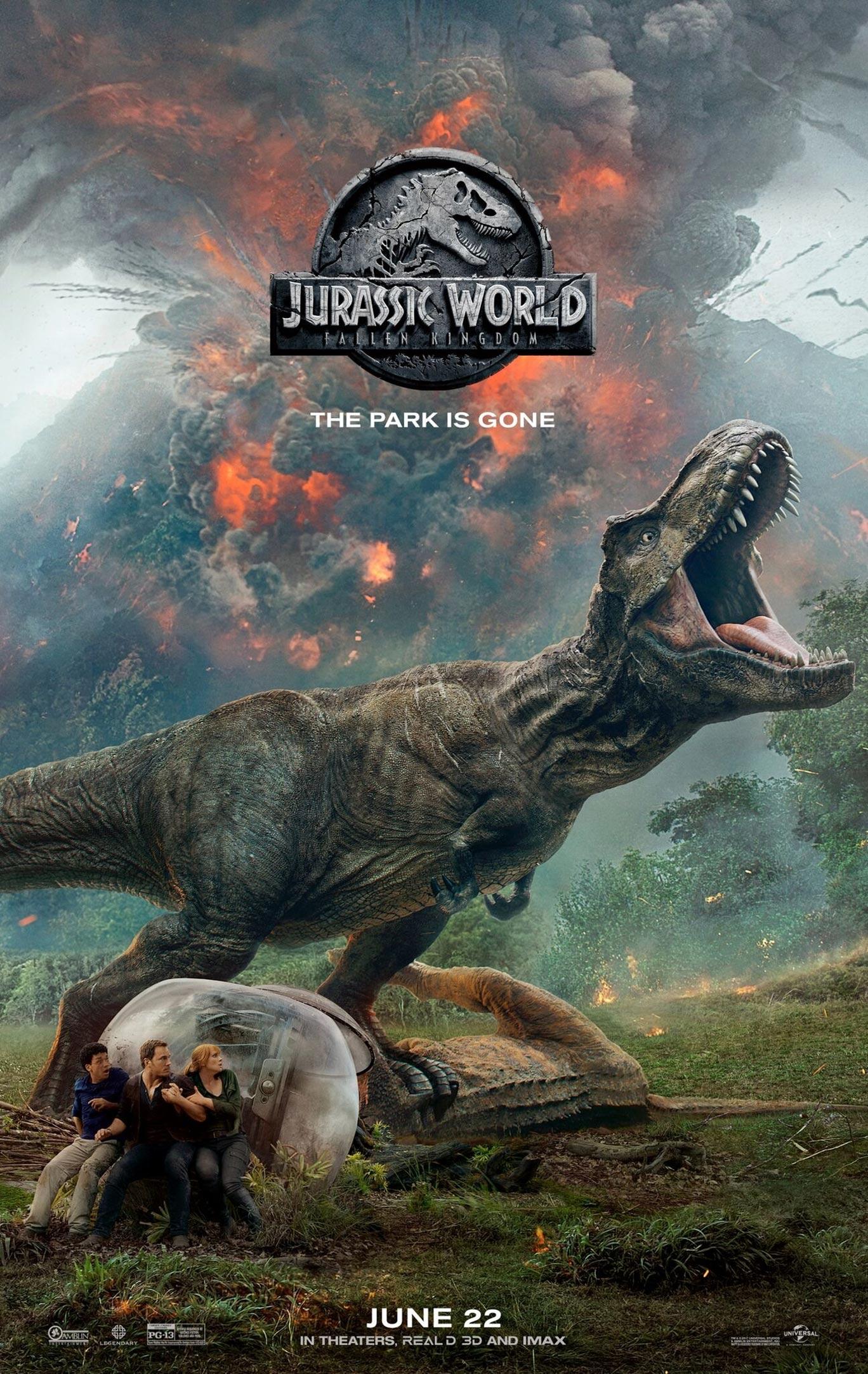 Jurassic World: Fallen Kingdom Poster #4