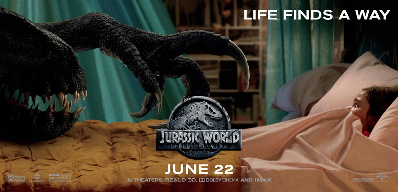 Jurassic World: Fallen Kingdom Poster #5