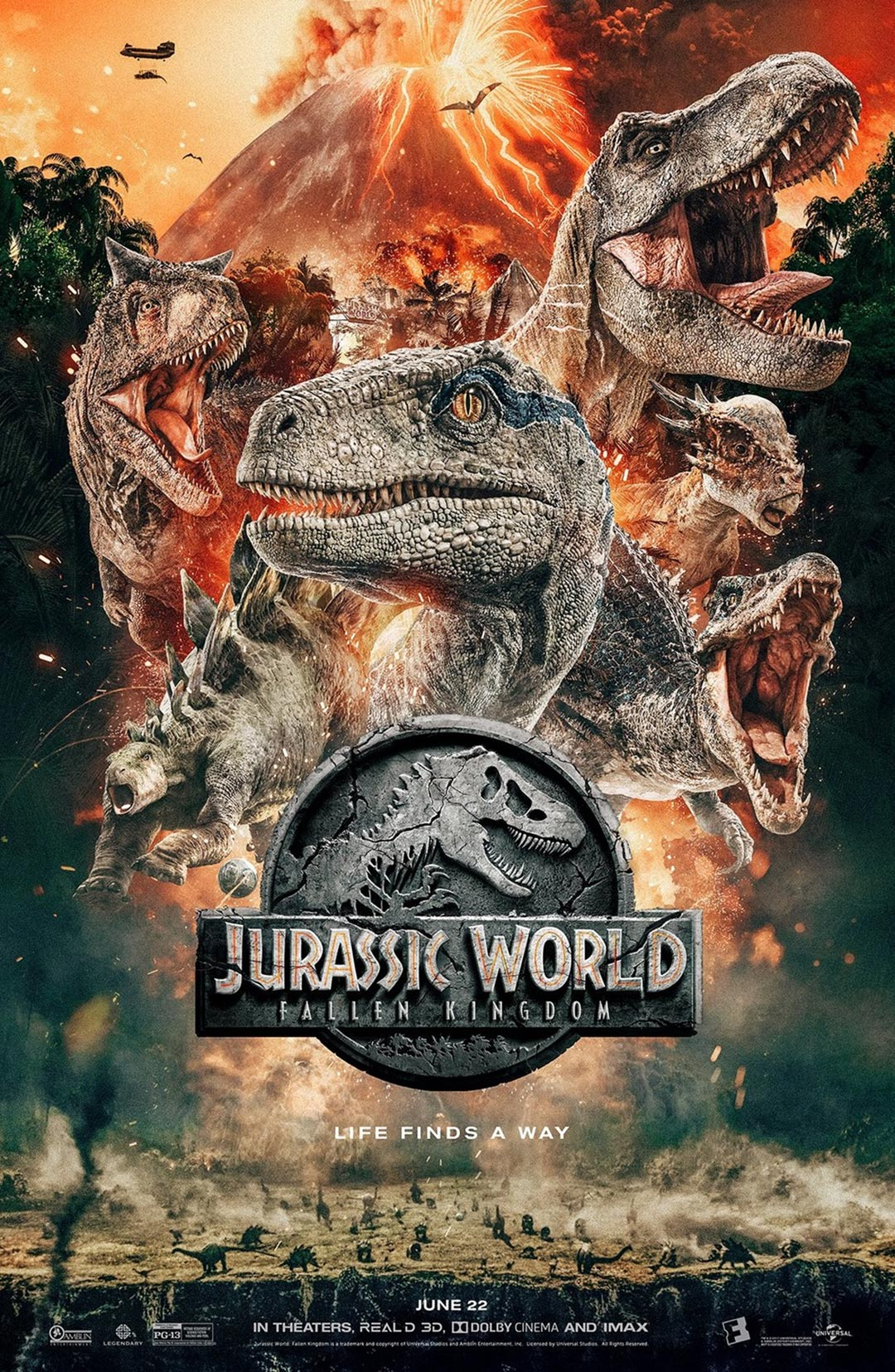 Jurassic World: Fallen Kingdom Poster #6