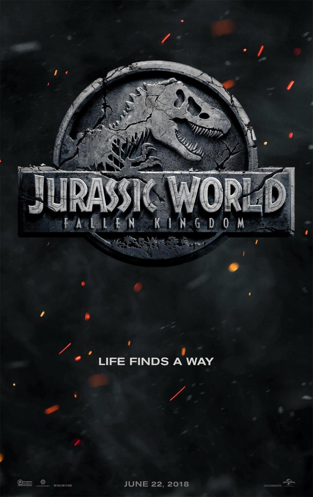Jurassic World: Fallen Kingdom Poster #1