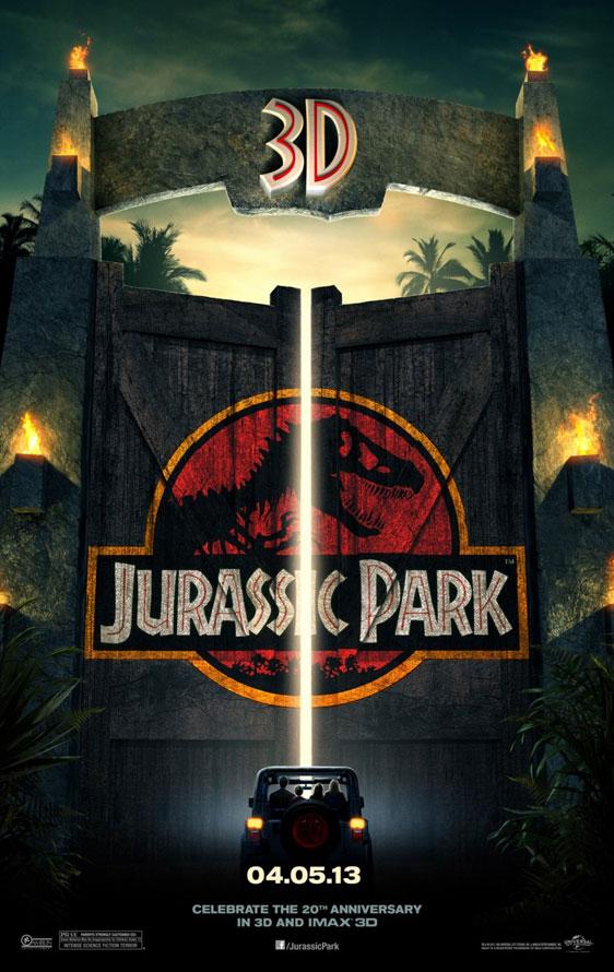Jurassic Park Poster #3