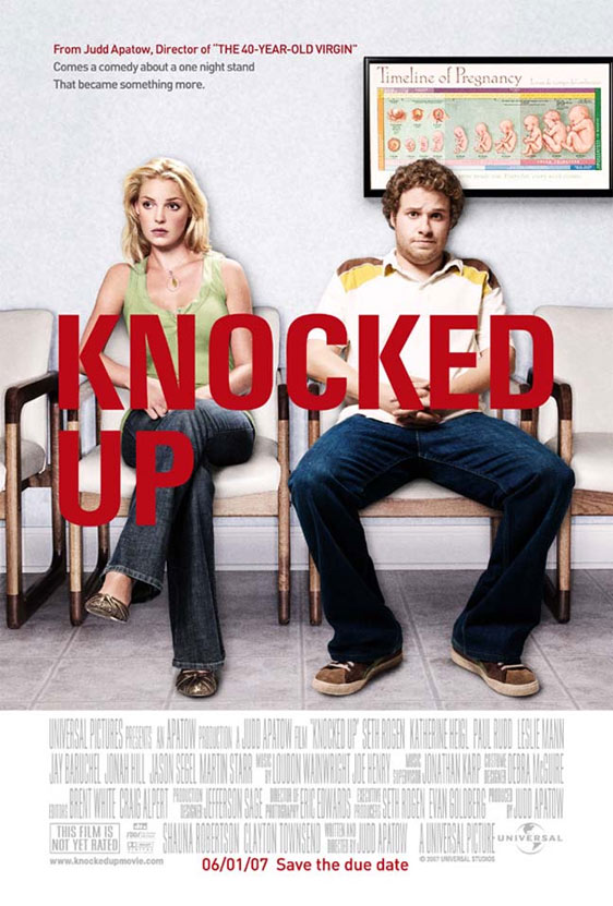 Knocked Up Poster #2