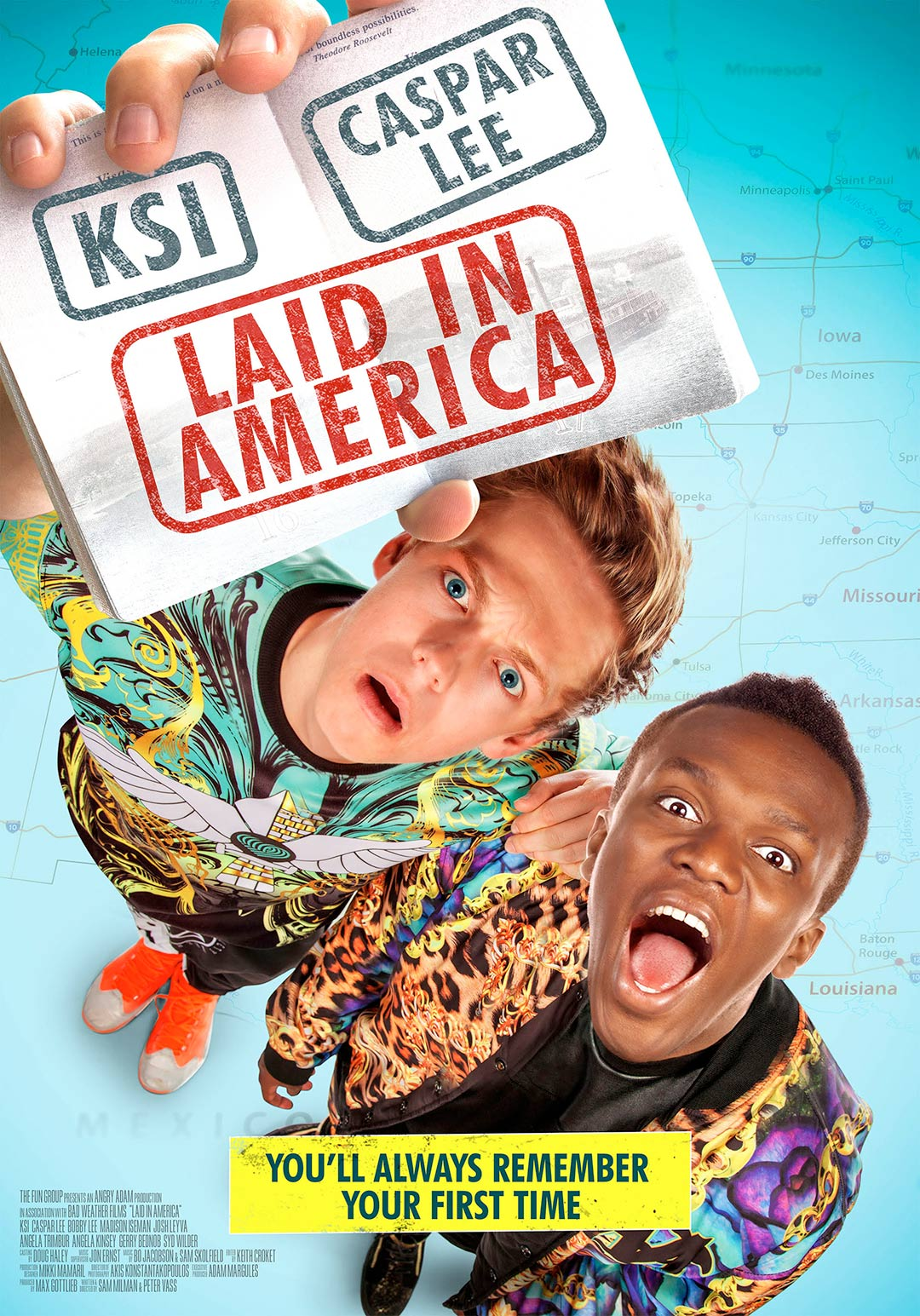 Laid in America Poster #1