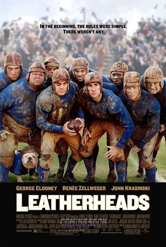 Leatherheads Poster #2