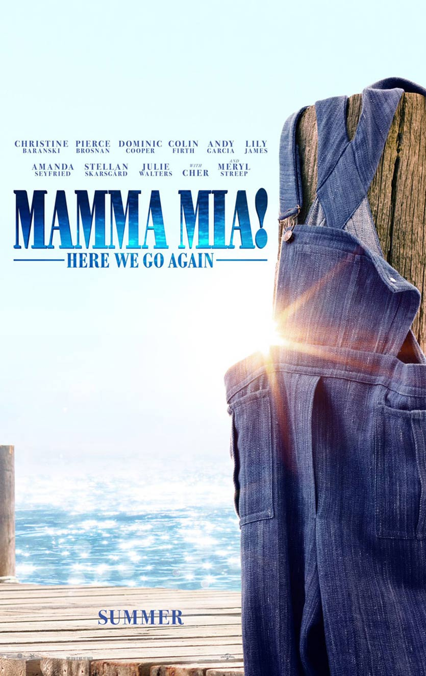 Mamma Mia! Here We Go Again Poster #1