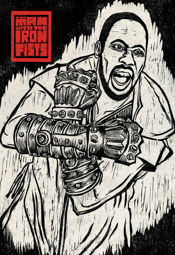 The Man with the Iron Fists Poster #12