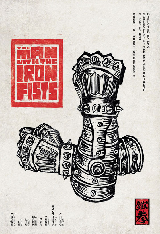 The Man with the Iron Fists Poster #4