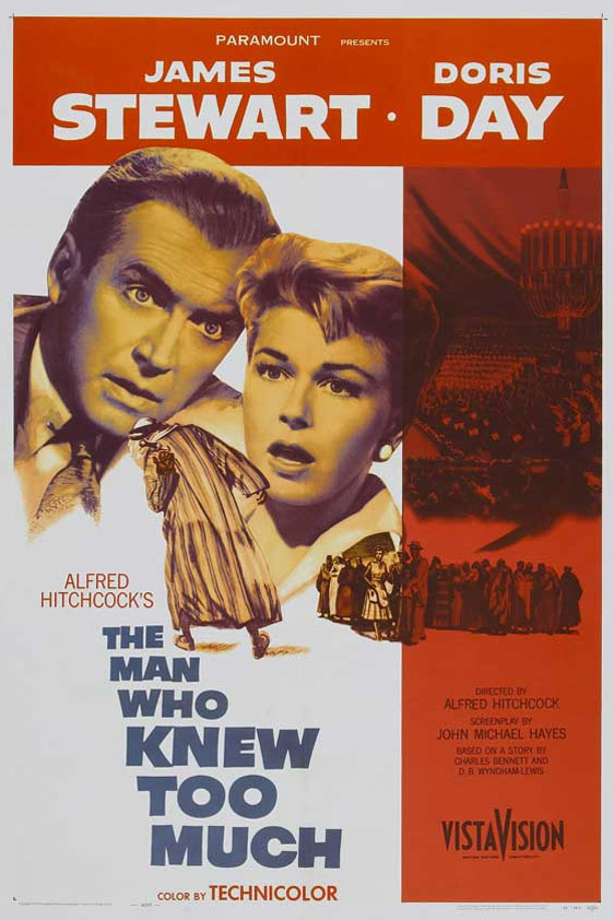 The Man Who Knew Too Much Poster #1
