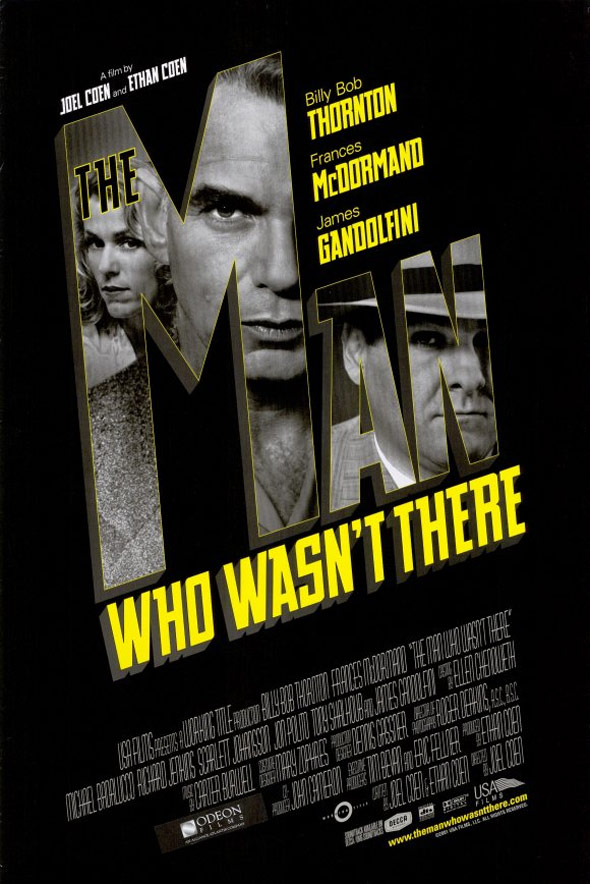 The Man Who Wasn't There Poster #1