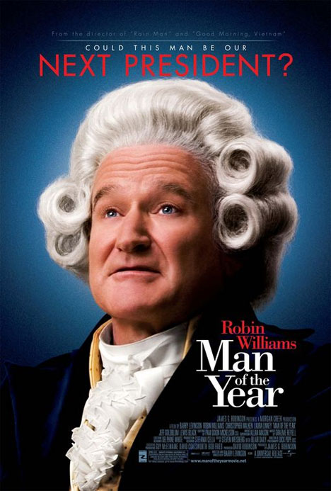 Man of the Year Poster #1