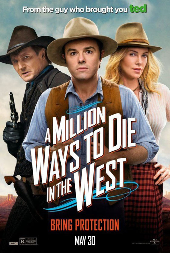 A Million Ways to Die in the West Poster #11