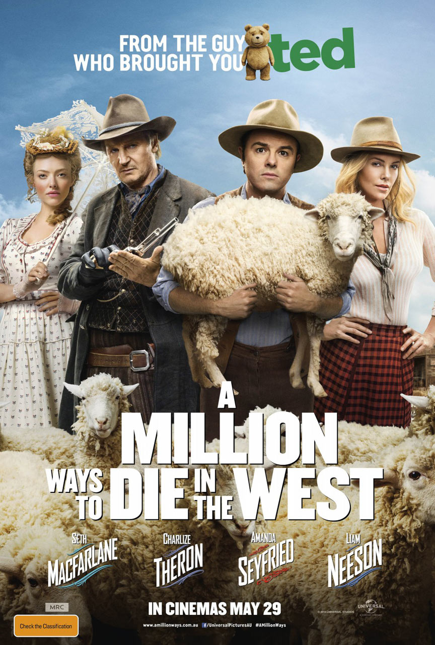 A Million Ways to Die in the West Poster #12